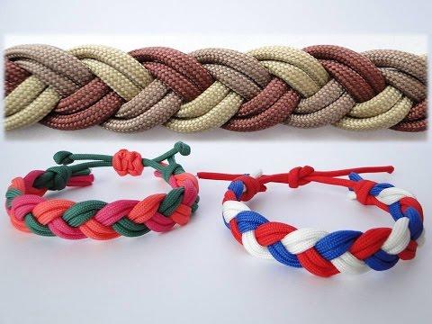 How to Make an Easy Paracord Friendship Bracelet-Turk's Head Sailor's Knot-Adjustable Sliding Knot