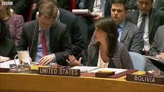 UN ambassador: