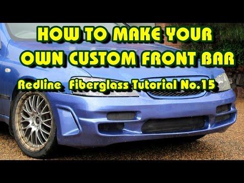 How to Make a Custom Front Car Bumper