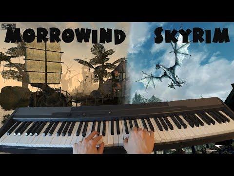 Morrowind & Skyrim - Piano Cover