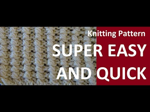 Knitting Pattern * SUPER EASY AND PRETTY *