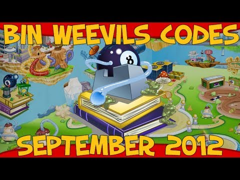 Bin Weevils - Mulch, Item, XP, Dosh and Seed Codes September 2012