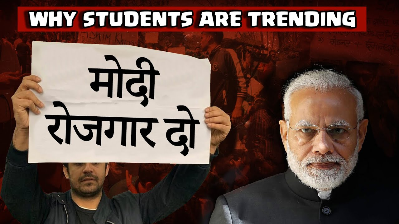Modi Rojgar Do | Why Students are so upset? | Akash Banerjee feat - PuNsTeR™ | The Deshbhakt