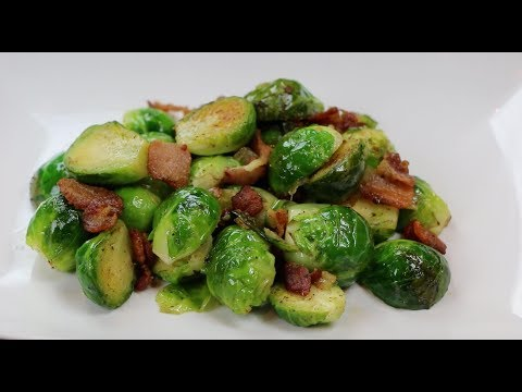 The Best Brussels Sprouts Recipe - How to make Brussels Sprouts with Bacon