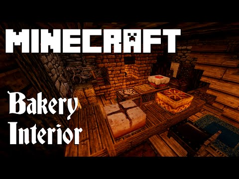 Minecraft: Bakery Interior (Graywatch)