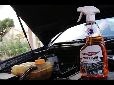 Easy Way To Clean An Engine Bay | FocusOnDetailing | Car Detailing | Bowdens Orange Agent
