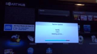 Samsung smart tv netflix problem