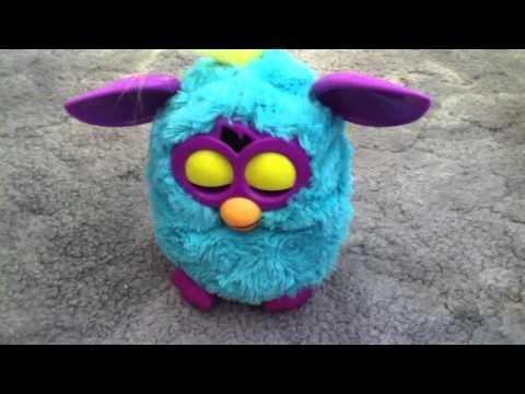 My random Furby waking up.