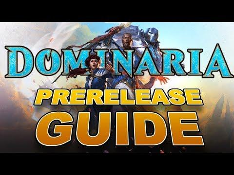 MTG - FULL Dominaria Prerelease Guide! Win the Magic: the Gathering Prerelease!