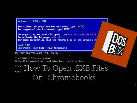 How To Open .EXE Files On Chromebooks