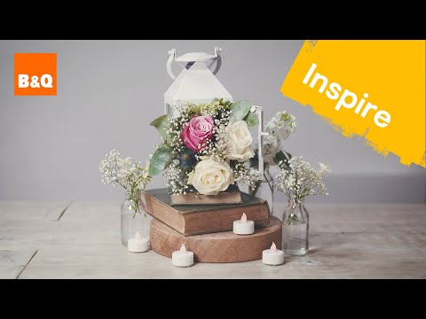 How to make your own summer centrepieces