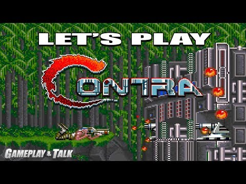 Let's Play Contra (arcade) for the XBOX 360 | Played via Xbox One Backwards Compatibility