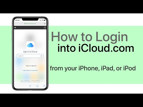 How to Login Into iCloud.com on iPhone or iPad