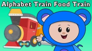 T Is for Train   Alphabet Train Food Train + More   Mother Goose Club Phonics Songs