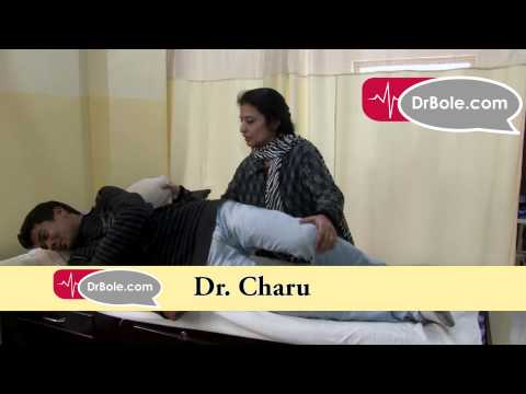 Sleeping postures for Slip Disc Patients Dr  Charu Physiotherapist Vaishali Ghaziabad DrBole com