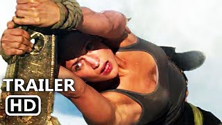 TOMB RAIDER Trailer # 2 (2018) Alicia Vikander, Lara Croft Action Movie HD