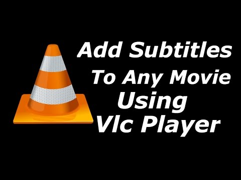 How To Add Subtitles To Any Movie In Vlc Player (Bangla)