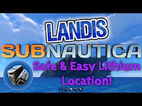 Lithium Location - Subnautica Guide