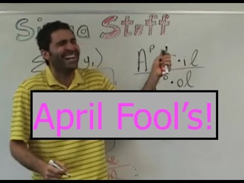 April Fool's! Teacher + students pull off the ultimate prank.