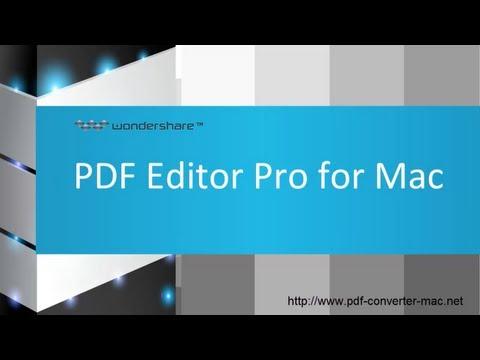 Introducing Wondershare PDF Editor Pro for Mac (A trustworthy PDF Editing Tool)