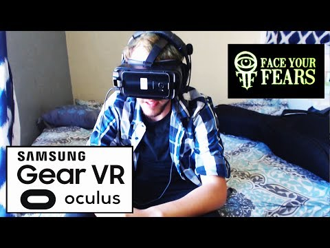 Samsung VR with Galaxy S7 Oculus Reaction Face Your Fears