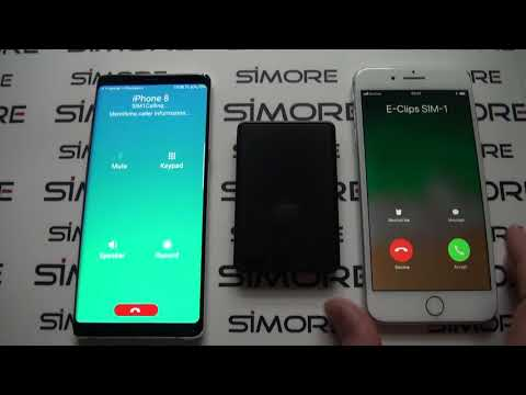 Bluetooth Dual SIM adapter Android for Galaxy Note8 with 3 numbers active at the same time - SIMore