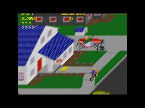 Hugbox Arcade April - Paperboy