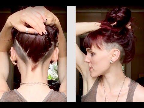 Women's Undercut - Double Side Shave Undercut