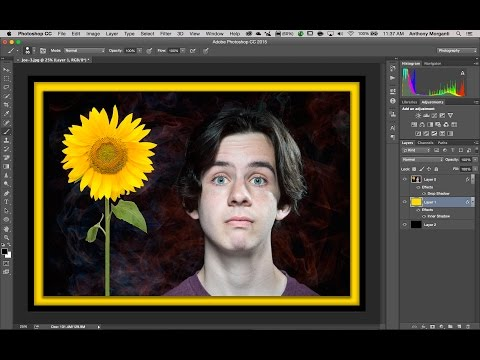 Photoshop For Photographers - Episode 18: Adding a Border to an Image