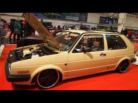 Volkswagen Golf 2 Wüstenfuchs Tuning at Essen Motorshow - Exterior Walkaround
