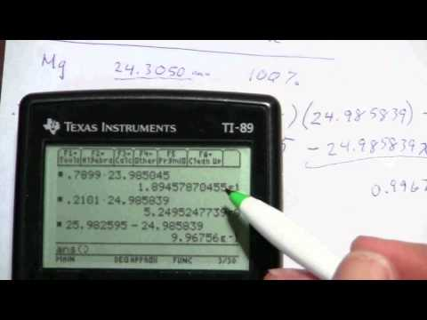 Isotopes and Atomic Mass (3 of 3)