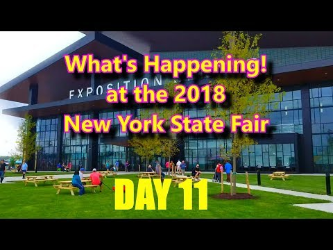 What's Happening! at the 2018 New York State Fair Day 11