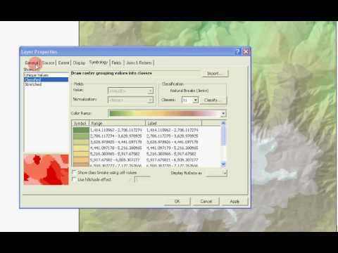 Topographic Mapping in ArcMap