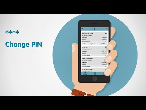 Change your PIN with the new TMB mobile app