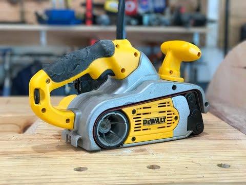 Repairing DEWALT DW433 Belt Sander   Fixing Woodworking Tools