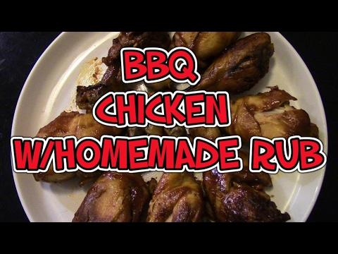 BBQ Chicken w/Homemade Dry Rub