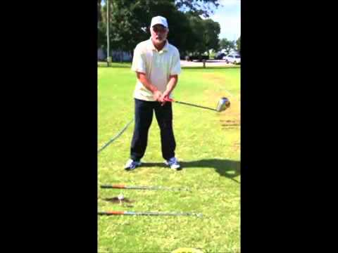 Golf Lesson, How to drive the golf ball 40 yards further