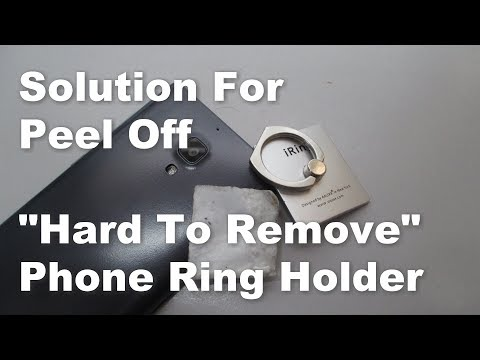 Solution How to remove peel off