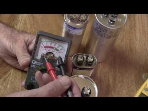 What is a Run Capacitor, and how can I test it to see if it is bad ?