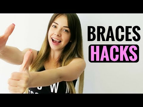 BRACES LIFE HACKS AND TIPS - FOR PAIN, FOOD TO EAT AND AVOID WITH BRACES, DENTAL WAX