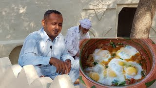 Eggs with Tomatoes & Potatoes | Easy Healthy Breakfast Village Style | Village Food Secrets