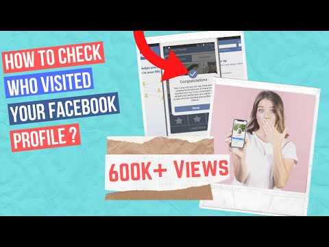 How to check who visited my facebook profile 2018 | How to see who views your facebook profile