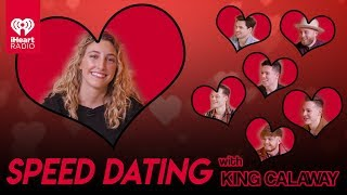 King Calaway Speed Dates With A Lucky Fan! | Speed Dating