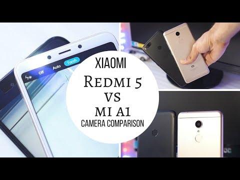 Redmi 5 vs Mi A1 Camera Comparison | Same Cameras, Different Performance!