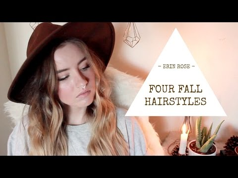 4 Hairstyles for Long Hair | Erin Rose