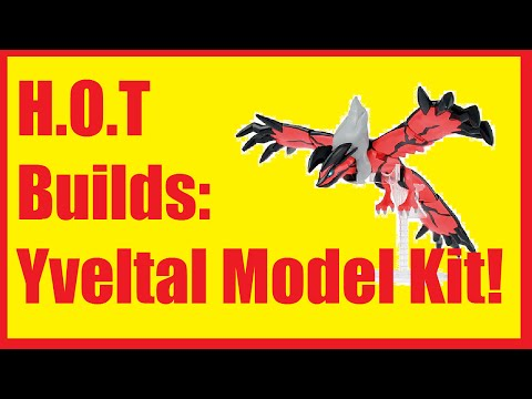 Let's Build! Yveltal from Pokemon!  Yveltal Sprukit