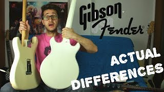 Fender vs Gibson - 5 Differences that Actually Matter