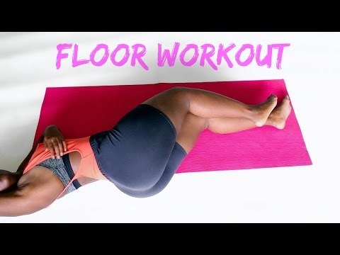 How to get a Bigger Butt   5 min Workout for Bad Knees