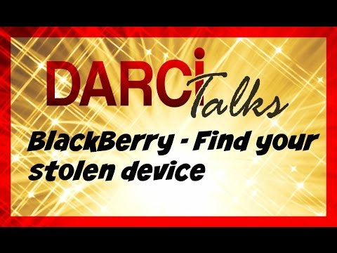 BlackBerry Protect - How to find your lost or stolen device