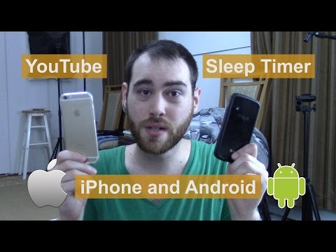 Phone YouTube Sleep Timer (Android and iPhone)